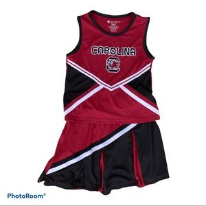 Colosseum SC Gamecocks Cheerleader Outfit Sz M 7-8